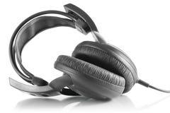 Cuffie professionali del DJ Immagine Stock