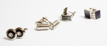 cufflinks Royaltyfria Foton