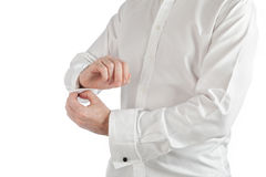 Cufflinks Royalty Free Stock Photo