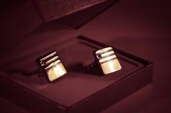 Cufflinks Fotografia Royalty Free