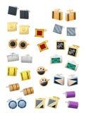 Cufflinks Royaltyfria Bilder