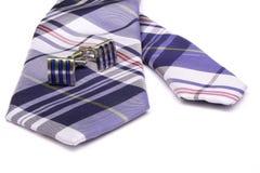 cufflinks krawat Zdjęcie Stock