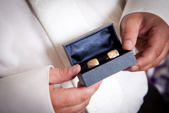 Cufflinks Stock Image