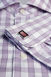 cufflinks men s shirt 免版税库存照片