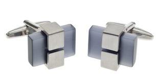 cufflinks metal самомоднейший камень Стоковое Изображение RF