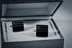 Cufflinks set Royalty Free Stock Photography