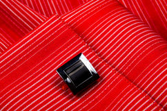 Cufflinks shirt sleeve Stock Image