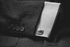 Cufflinks van luxemensen ` s stock fotografie