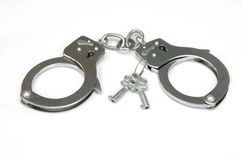 Cuffs Locked Royalty Free Stock Image