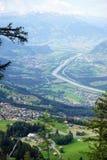 Cugiel i dolina zdjęcia stock