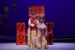 "Cui Yingying -Kunqu Opera ""the West Chamber"" Stock Photos"