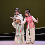 "Cui Yingying and the maid-Kunqu Opera ""the West Chamber"" Royalty Free Stock Images"
