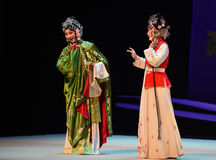 "Cui Yingying 's disease-Kunqu Opera ""the West Chamber"" Stock Photos"