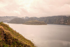 Cuicocha Crater Lake, Ecological Reserve, Ecuador Royalty Free Stock Photography