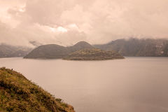 Cuicocha Crater Lake, Ecuador Stock Photography