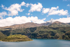 Cuicocha lake, Ecuador Stock Photography