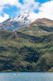 Cuicocha lake in Ecuador Royalty Free Stock Image
