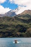 Cuicocha lake in Ecuador Royalty Free Stock Photography