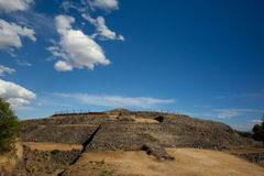 Cuicuilco Circular Pyramid. Royalty Free Stock Photography
