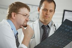 Cuida diagnosis consluting Foto de archivo libre de regalías