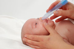 Cuidado #5 do bebê Imagens de Stock Royalty Free