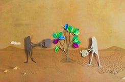 Cuidado ambiental Imagen de archivo libre de regalías