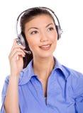 Cuidado amigável do cliente Imagem de Stock Royalty Free