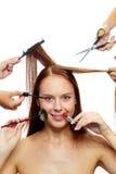Cuidado da beleza Fotos de Stock
