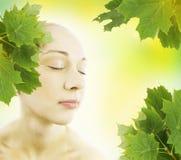 Cuidado da beleza - conceito dos termas Fotografia de Stock Royalty Free