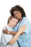 Cuidado de amor macio Imagem de Stock Royalty Free