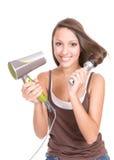 Cuidado de cabelo imagens de stock