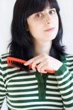 Cuidado de cabelo Fotos de Stock Royalty Free