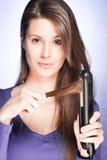Cuidado de cabelo Imagens de Stock Royalty Free