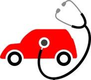 Cuidado de carro ilustração do vetor