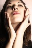 Cuidado de la cara. Fotos de archivo libres de regalías