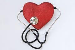 Cuidado de la presión arterial Imagen de archivo libre de regalías