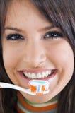 Cuidado de los dientes Foto de archivo