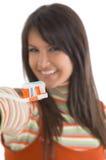 Cuidado de los dientes Imágenes de archivo libres de regalías