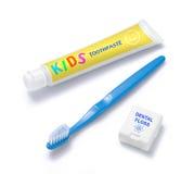 Cuidado de los dientes de los niños Fotos de archivo libres de regalías