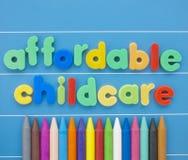 Cuidado de niños asequible Imágenes de archivo libres de regalías