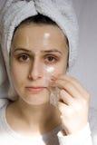 Cuidado de piel Fotografía de archivo