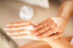 Cuidado de piel Foto de archivo libre de regalías