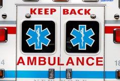 Cuidado del ambulatorio de la emergencia Imágenes de archivo libres de regalías