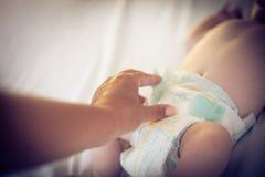 Cuidado del bebé foto de archivo libre de regalías