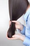 Cuidado del cabello Fotografía de archivo libre de regalías