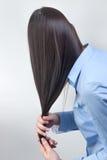Cuidado del cabello Imágenes de archivo libres de regalías
