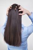 Cuidado del cabello Imagen de archivo