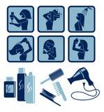 Cuidado del cabello Fotos de archivo libres de regalías