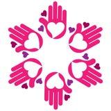 Cuidado del corazón Foto de archivo libre de regalías