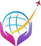 Cuidado del transporte aéreo Imagen de archivo libre de regalías